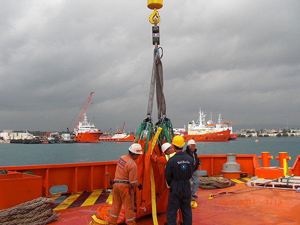 Crane using our loadcell