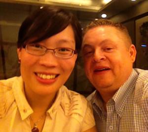 My very good friend Julie Zhu