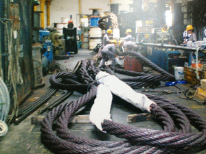 Wire rope factory, Intermarine