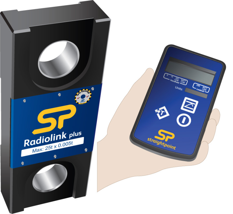 Dynamometer Load Cell : Digital dynamometer load cell wireless radiolink plus