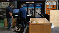 Assembling a trade show stand is like putting together a jigsaw puzzle.
