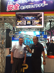 The Live Entertainment & Event Expo was the backdrop for the launch of our new wireless load shackle