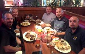 Regular readers know how much I love to embrace US food and customer service, enjoyed here with Team Camarillo.