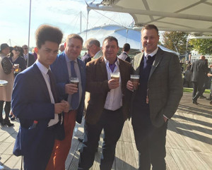 Bridger-Howes joined me and Mr Loadlink junior for a day at Glorious Goodwood