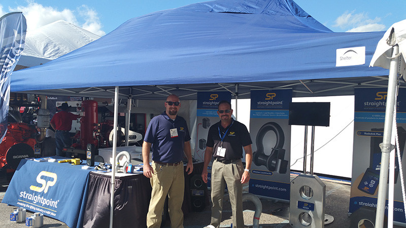 Hot off the press: John and Aaron have made a great start to the Louisiana Gulf Coast Oil Exposition in Louisiana.