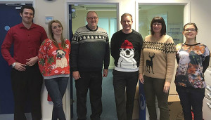 Unfortunately, I missed Christmas jumper day at the office this year. Otherwise, I would have outdressed this lot and donned my red trousers.