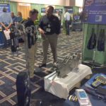 Straightpoint's U.S. general manager John Molidor in action at AWRF.
