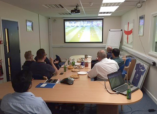 England match at Straightpoint