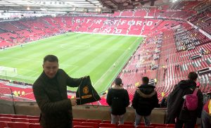 Straightpoint's Gavin Arnell, who recently passed the LEEA P1E Foundation Course, was a deserving guest of DHL at Manchester United.