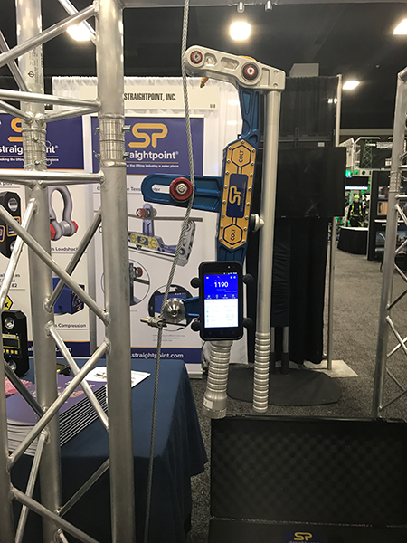The Clamp On Line Tensionmeter (COLT) boasts a state-of-the-art Bluetooth load monitoring app among a myriad of standout features.