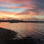 A stunning Borneo sunset.