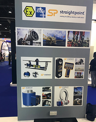 Rigmarine displayed our products at the Seatrade Offshore Marine & Workboats show in Abu Dhabi last month