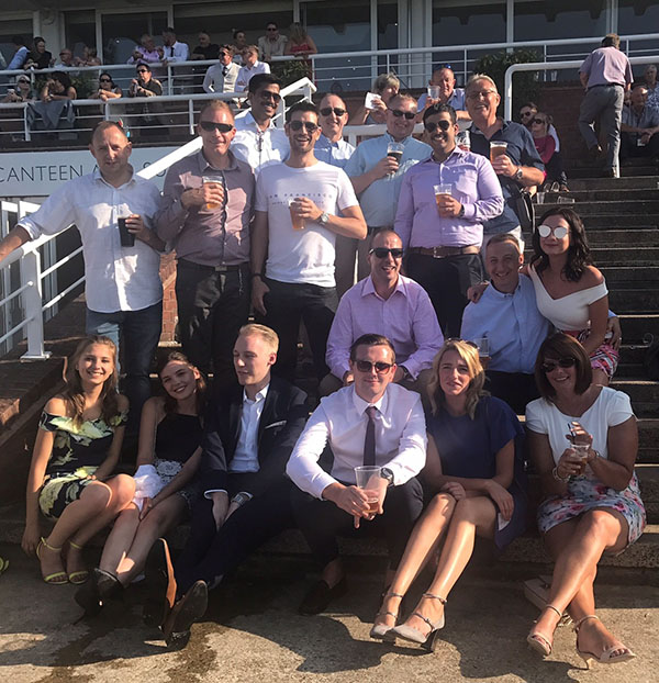 Team SP at Goodwood Races