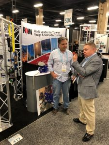 NATE attendees were interested to learn how CableSafe can be connected to our new Bluetooth app for smart devices.