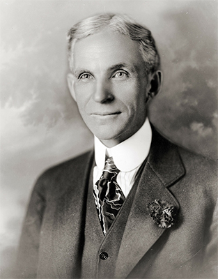 Henry Ford was a business magnate.