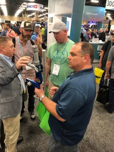 It was good to catch up with plumb and tension professionals at the NATE event.
